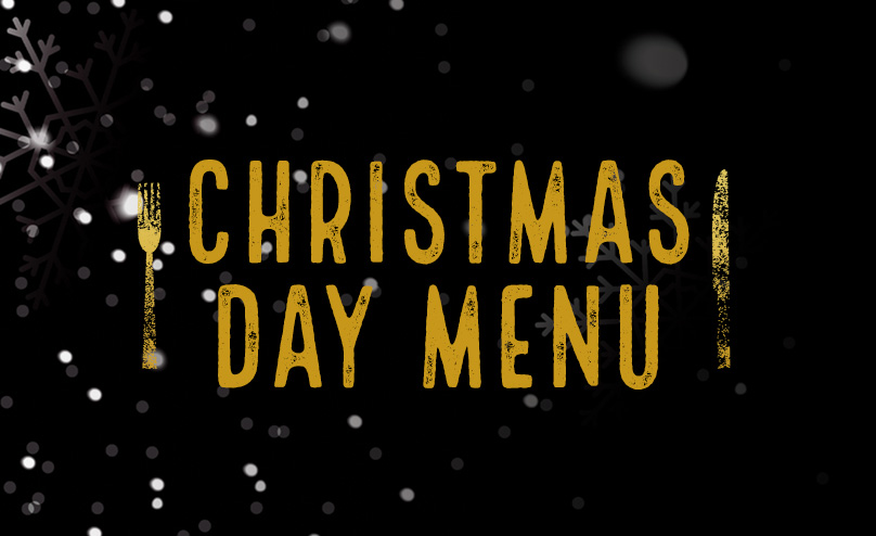Christmas Day Menu at The Rocket