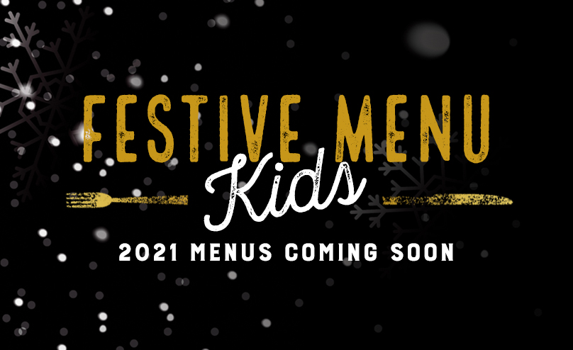 Kids Festive Menu at The Rocket